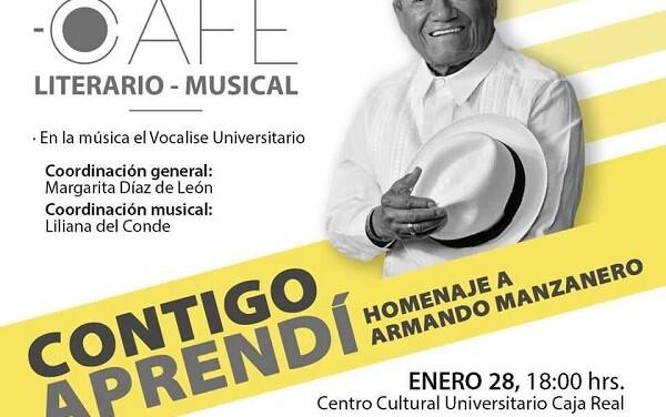 """""""Contigo Aprendí"""" homenaje Armando Manzanero"""