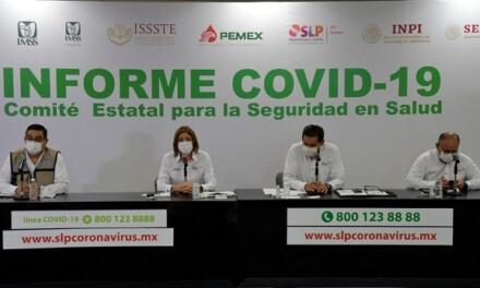 REPUNTAN CASOS Y DEFUNCIONES POR COVID-19