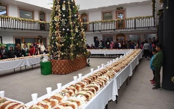 Invitan a la tradicional Rosca de Reyes monumental