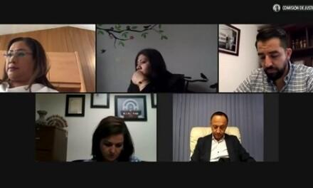 Reunión de la comisión de justicia
