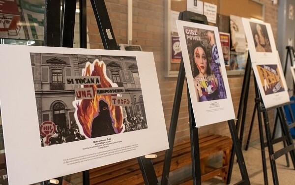 Diversas Exposiciones colectivas feministas UASLP