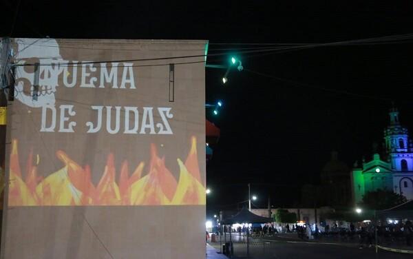 EXHIBEN QUEMA DE JUDAS VIRTUAL