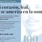 LUISA HUERTAS EN EL HOMENAJE A RAMÓN LÓPEZ VELARDE