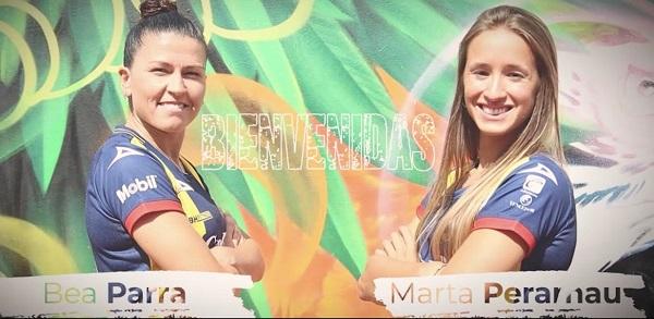 Llegan Marta Perarnau y Beatriz Parra al ADSL