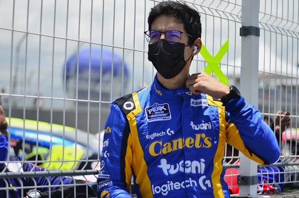 Alex de Alba Jr. top tres de la General NASCAR