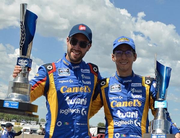 Potosinos Triunfan NASCAR  en Aguascalientes