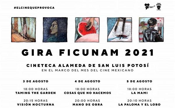 FESTIVAL DE CINE DE LA UNAM EN LA CINETECA ALAMEDA