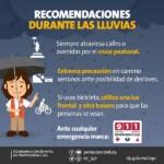 PREVALECEN CONDICIONES DE LLUVIA: PC