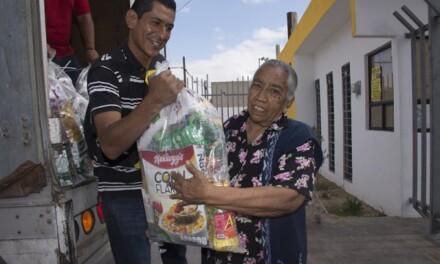 IMPULSAN LA ENTREGA DE APOYOS SOCIALES