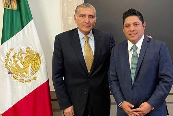 REUNIÓN RICARDO GALLARDO CON EL SECRETARIO DE GOBERNACIÓN