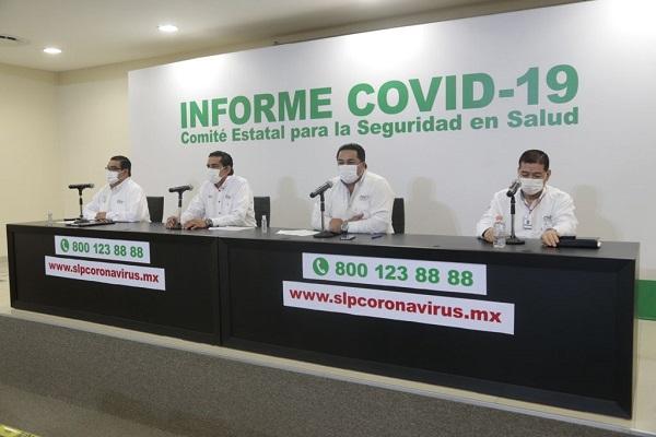 AVANZA PROCESO DE VACUNACIÓN EN SLP