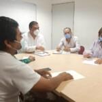 Reunión con representantes de comunidades indígenas